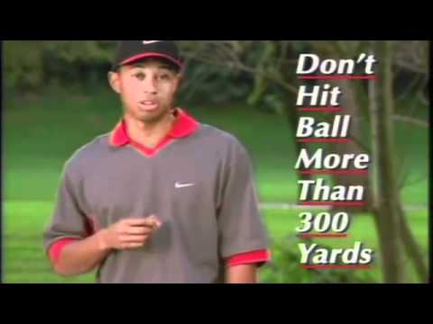 The 300 Yard Bunker Shot by Tiger Woods
