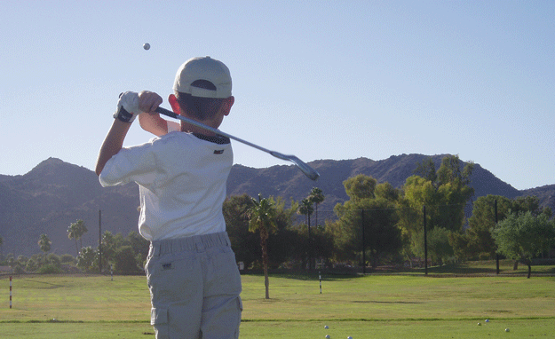 Actionable Golf Iron Swing Tips