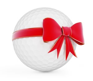 Getting a golfer a present