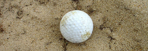 Golf Tips for Beginners: Getting Off the Beach