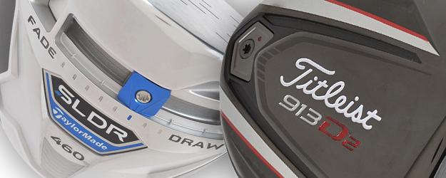 Top on Tour: The Titleist 913 D2 Driver vs. TaylorMade SLDR Drivers